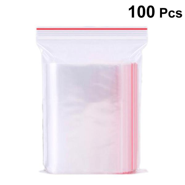 200pcs Small Clear Plastic 5x7cm Resealable Cellophane Small Bag//Packing//Storage