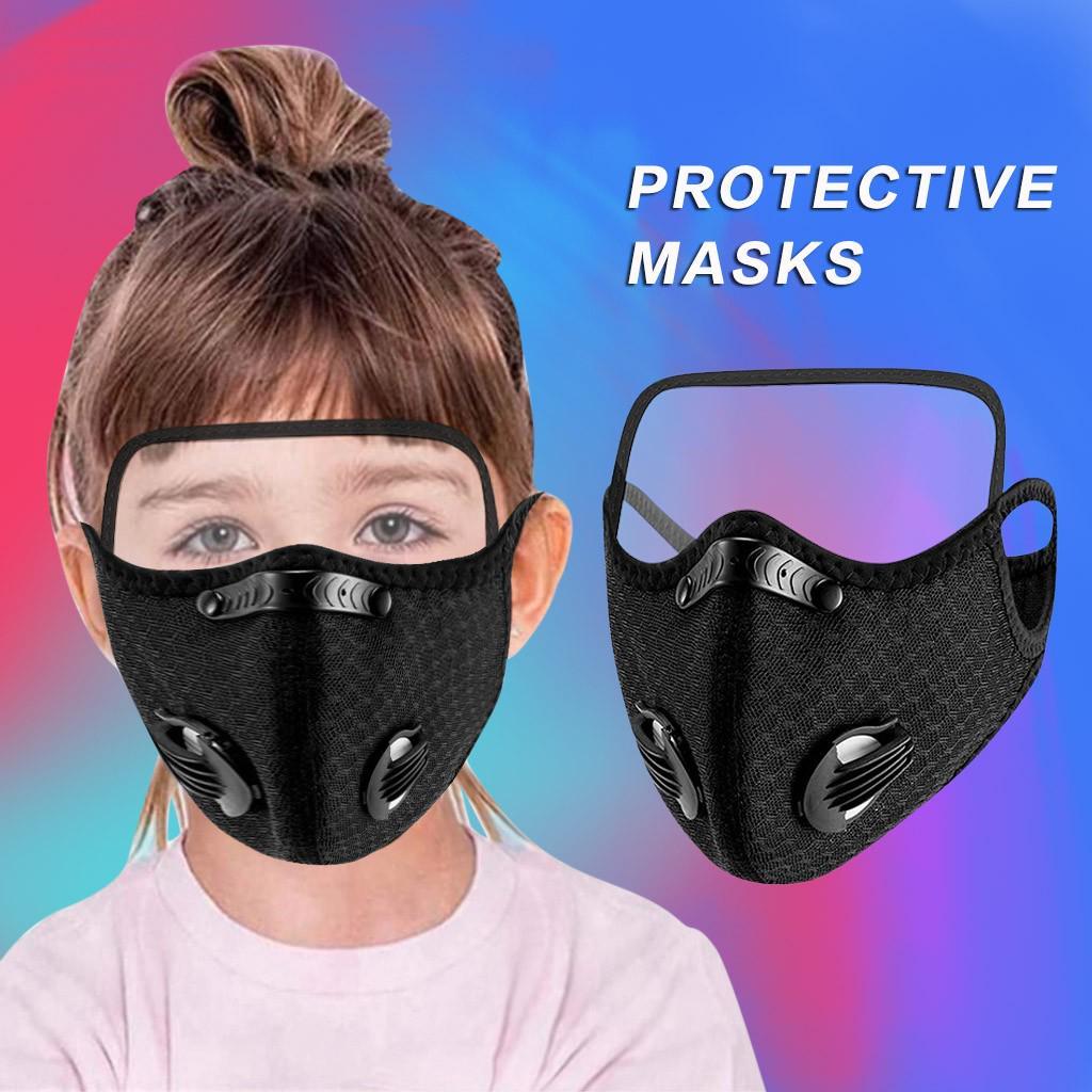 Дыхательные Рот Маска защиты детей маска с глазами – купить по низким ценам в интернет-магазине Joom