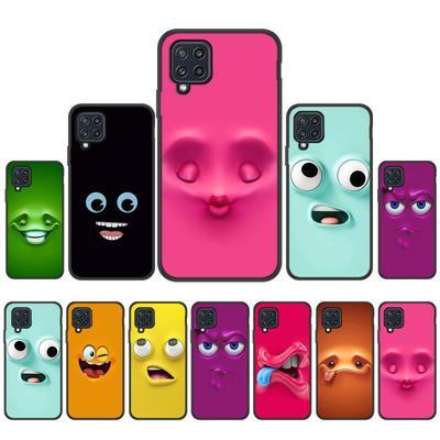 Cases For Samsung Galaxy A31 A32 A51 A52 A72 A12 S20 FE S21 Cover for Samsung J2 J1 J3 J4 J6 S8 S9 Plus Note10 Lite Silicone Cartoon Smile Phone Bag