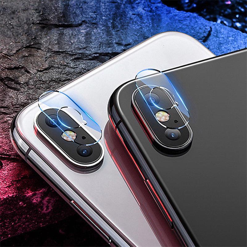 Телефон камеры обратно закаленное стекло протектор для iPhone XR XS Макс аксессуар обратно камеры объектив экрана
