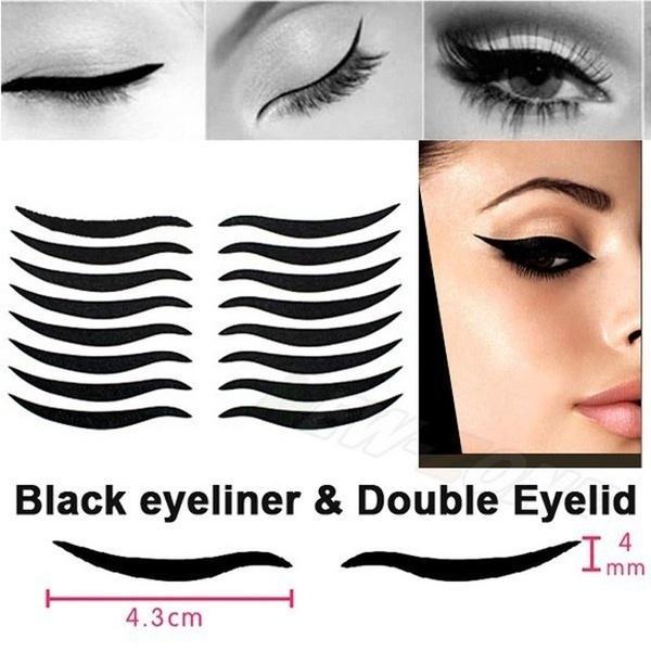 48pcs Eyelid Y Cat Style Eyes