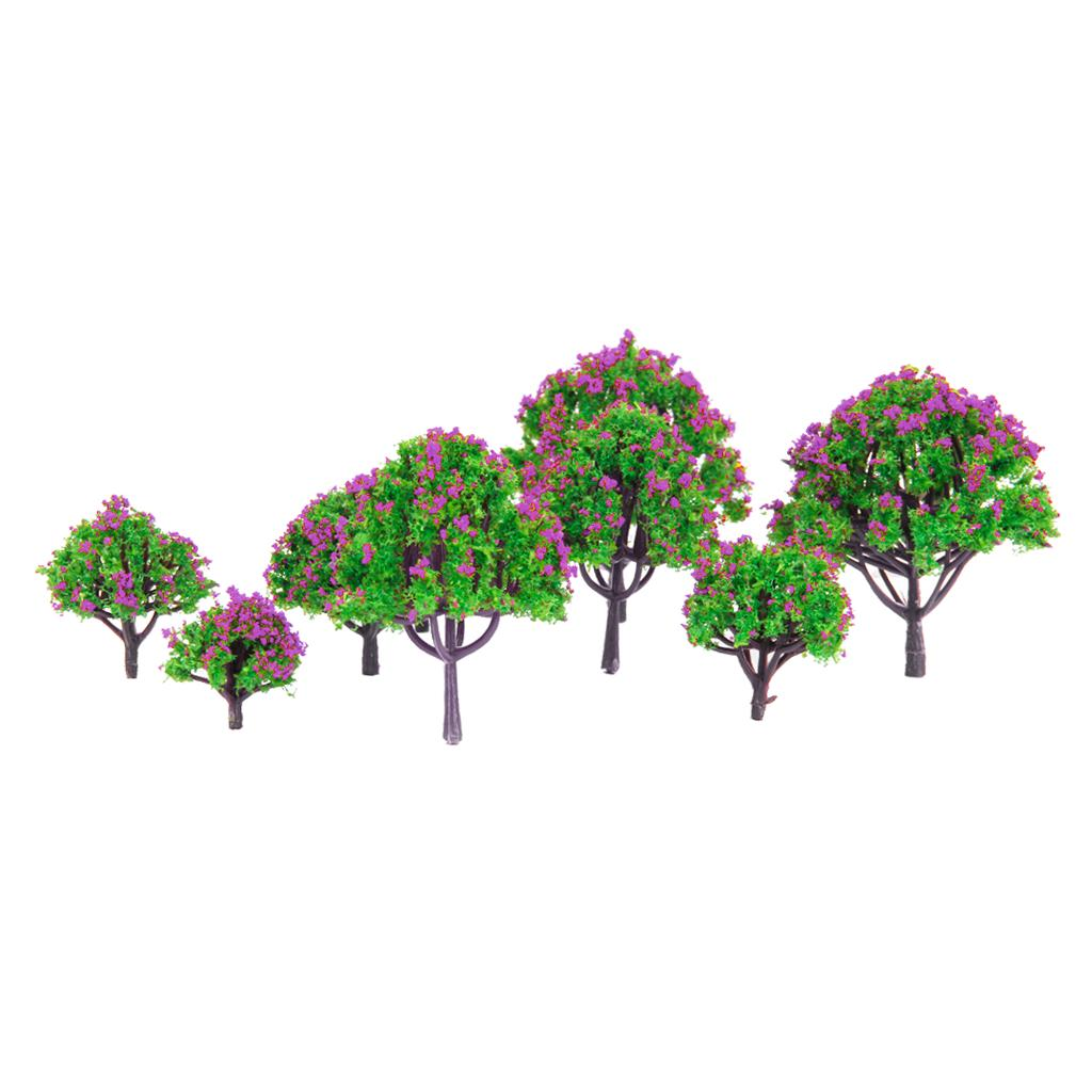 Tree Leaf Foliage Model Railway Train Scenic DIY Building Park Granular Shape