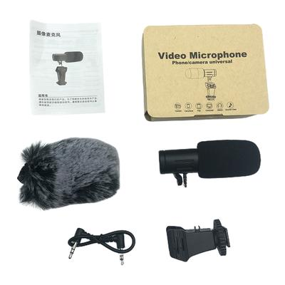 MIC-06 Universal Video Microphone with Shock Mount Case for Deadcat Windscreen