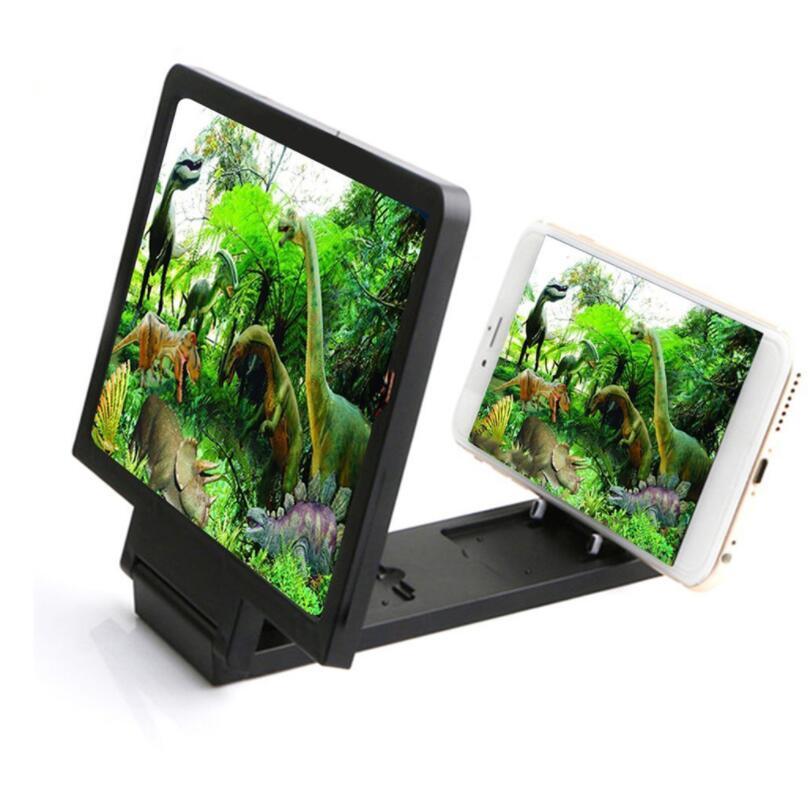 Экран усилитель Универсальный телефон увеличительное стекло HD Видео Стенд Складной экран увеличен