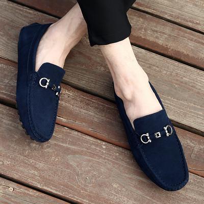 Antideslizantes Zapatos De Otoño Tamaño Plus Mocasines Hombres Zapatillas Ante Los Conducción Primavera Casual Yf7g6vyb