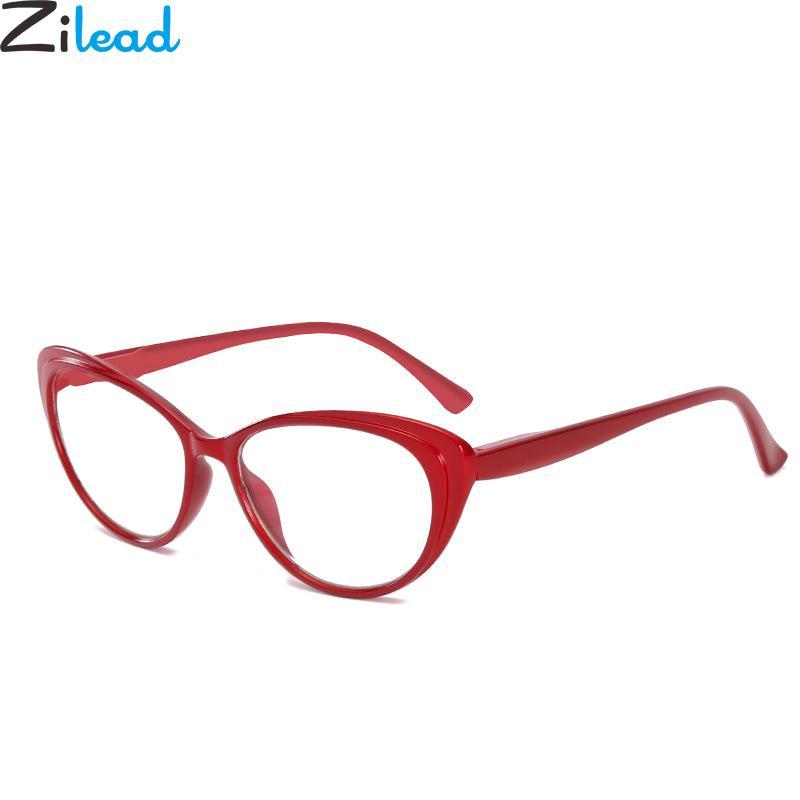 Cat Глаза Чтение очки для женщин Очистить объектив Очки Пресбиопия очки очки Unisex фото