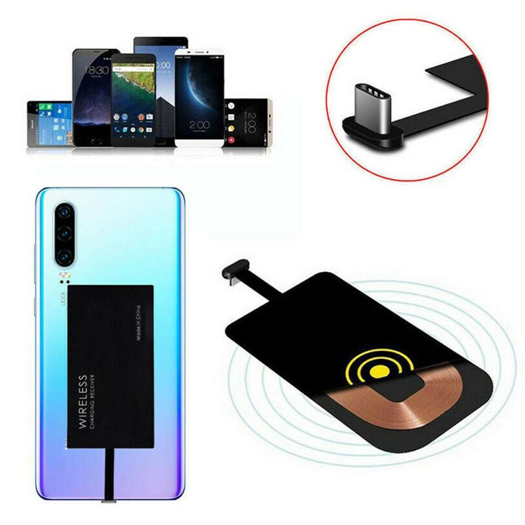 Maijiabao Type C Wireless Charging Receiver Adapter for Huawei P20/P20 Lite  Mate 20