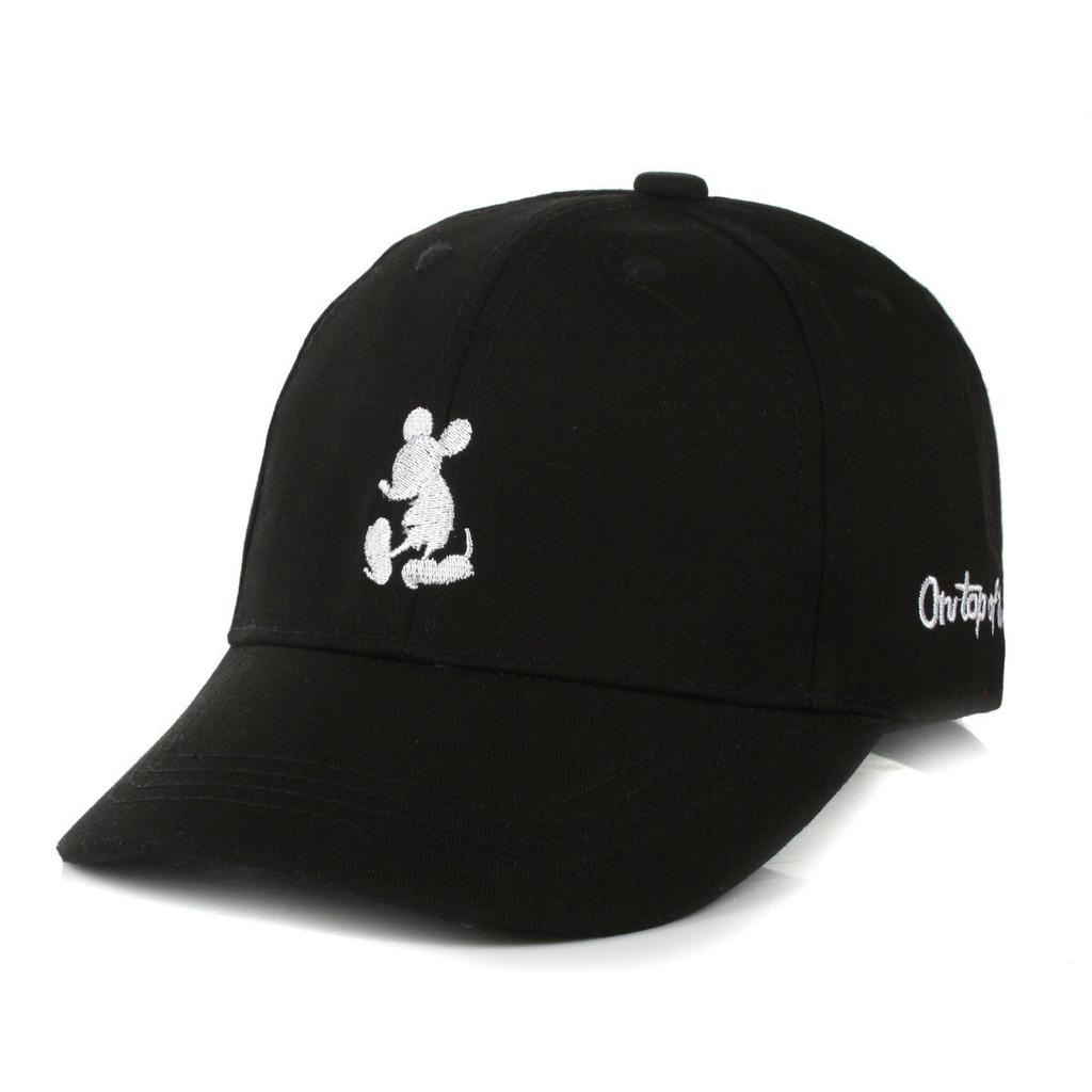 dibujos animados de Snapback Mickey béisbol cap lindos sombreros ... 7032497e117