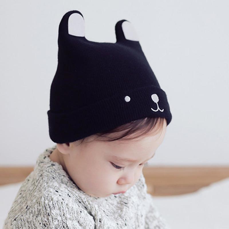 Unisex Kids Baby Boys Girls Soft Cotton Warm  Hat Cute  Toddler Hat UK