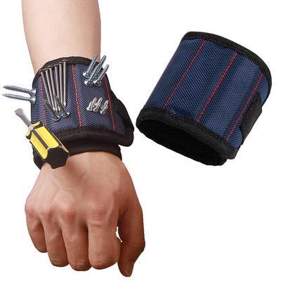 Popular 3 Magnetic Wristband Pocket Tool Belt Pouch Bag Screws Holding  Working Helper