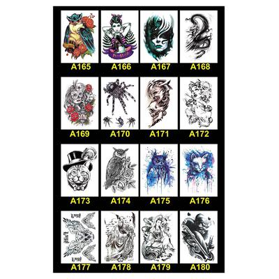 Waterproof Temporary Body Art Unsiex Wolf Winged Horse Tattoos Buy At A Low Prices On Joom E Commerce Platform
