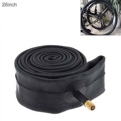 Butyl Rubber Bike Tyre Inner Tube Bicycle Tube Tire 26-Inch Schrader Valve Tube