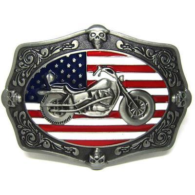 Fashion Belt Buckle Motorcycle Biker Metal Motor Ride the Wind Eagle/'s wing