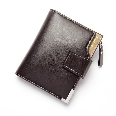 f78844d4b22e8 Mężczyzn wielofunkcyjne PU skórzany portfel kart zamek łącznik portfel  portmonetka torebka kopertówka