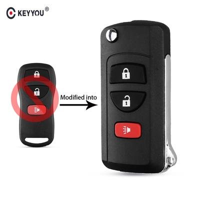 2pcs Fob Remote key Cover Jacket for 2017-2018 Nissan Murano Pathfinder Titan
