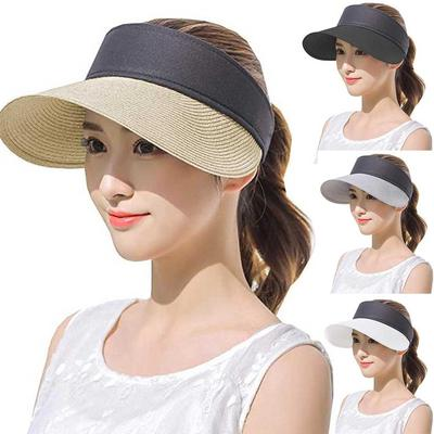 Protective Bucket Hats Sun Protection Hat for Women Summer Sun Cap with Wide Brim for Outdoor Plaid