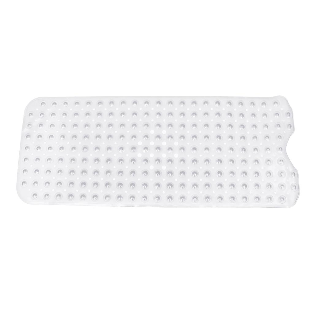 NonSlip Bath Shower Tub Mat PVC Foot Massage Bathroom Rubber Pad Suction 88×40cm