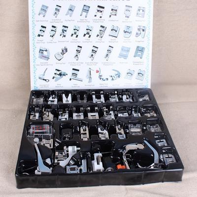 32pcs Mini Sewing Machine Presser Foot Feet Presser Feet Braiding Blind Stitch Darning Accessories