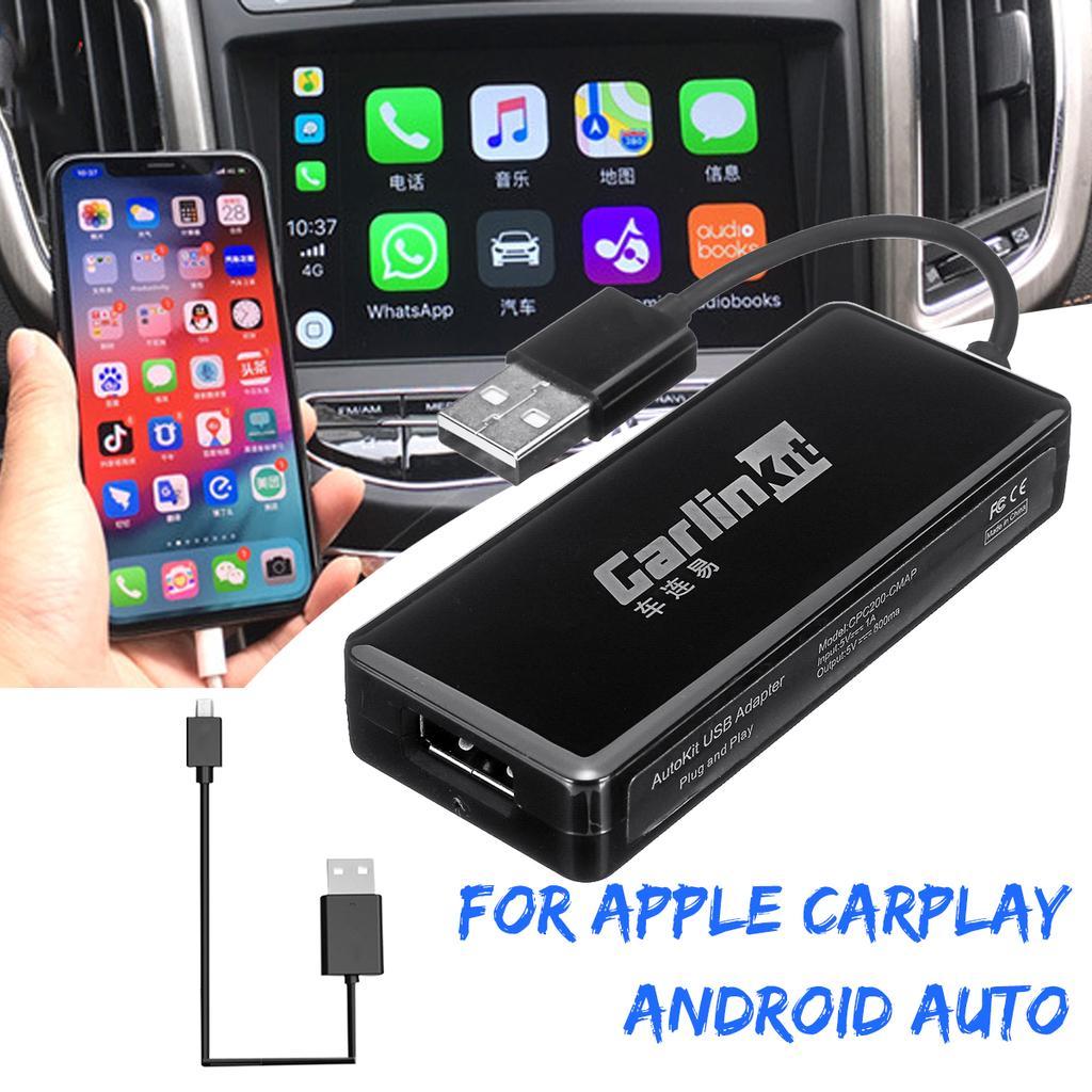 USB Dongle Adaptateur Android Autoradio GPS pour Apple iOS CarPlay Navigation