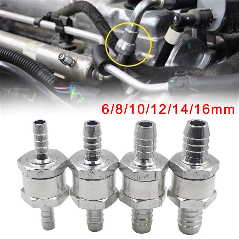 6//8//10//12//14//16MM Petrol And Diesel Oil One Way Fuel Non Return Check Valve