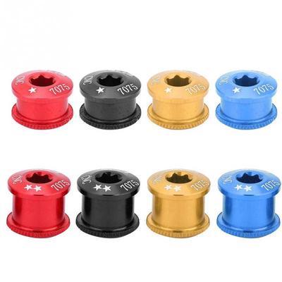5PCS Bike Chainring Bolts Single//Double//Triple Speed Chain ring Screws`B 't