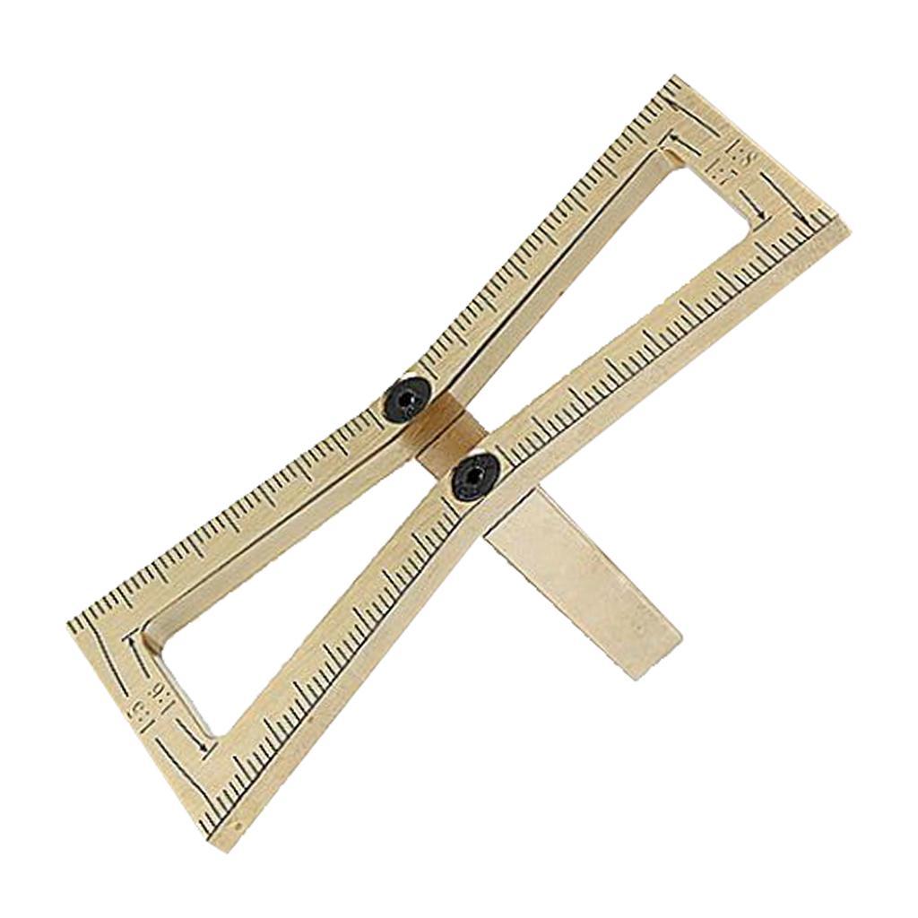 Magideal Woodworking Dovetail Marker Gauge Carpenter Copper