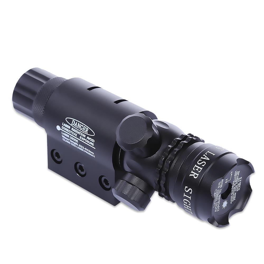 8808 20MM Pistole Weaver Picatinny-Schiene taktisches Red Dot Laser ...