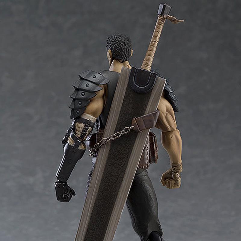 Black Swordsman Ver 359 Figma Berserk Guts Repaint Edition Figure New IN BOX