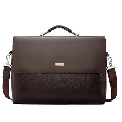 289f9d14ff34 Мужчины сумки Бизнес портфель роскошных Messenger сумки мужской ноутбук  управление сумка черный кожаный