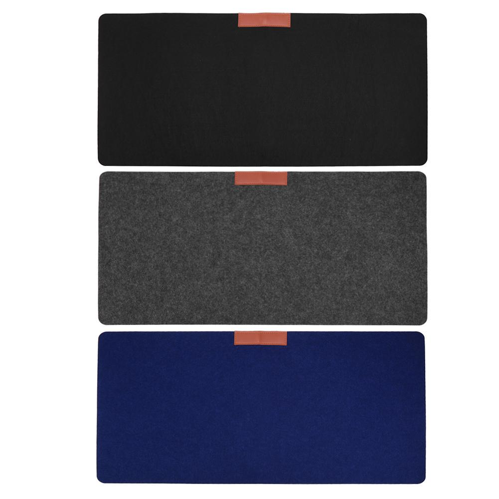 Thick Non-Woven Fabric Wear-Resistant Mouse Pad Anti-Skid Gaming Mouse Pad Non-Slip Table Mat Mousepad for Laptop Computer