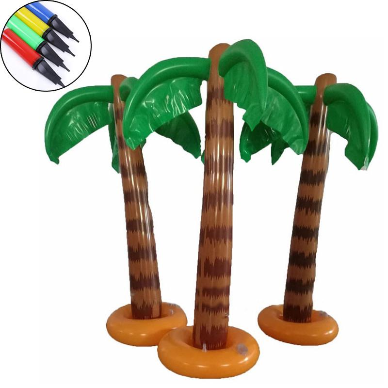 Toys Blow Up Pool Accessory Hawaiian Palm Tree Coconut Trees Toy Supplies