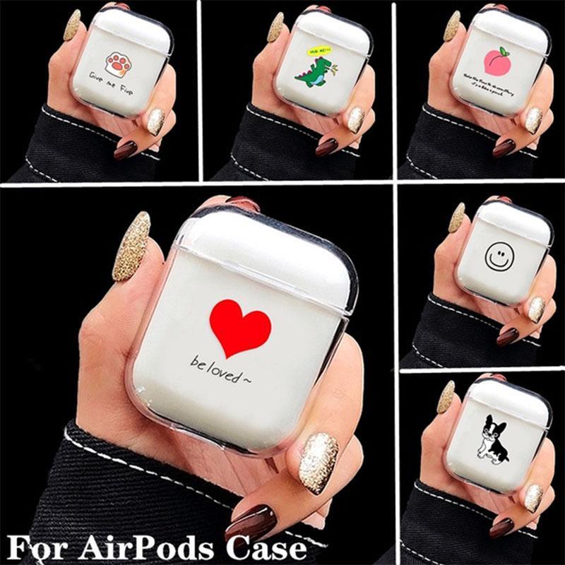 Для AirPods Дело Bluetooth Беспроводной наушник Дело жесткий ПК Anti-Scratch Shockproof охватывает фото
