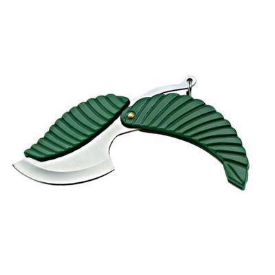 Hoja forma cuchillo llavero navaja Camping Senderismo herramienta de ...