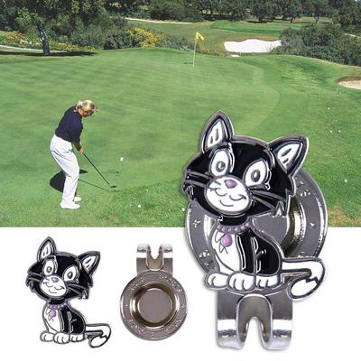 Professional Golf Magnetic Hat Clip Putting Alignment Aiming Tool Ball  Marker b1aa4b5c5fff