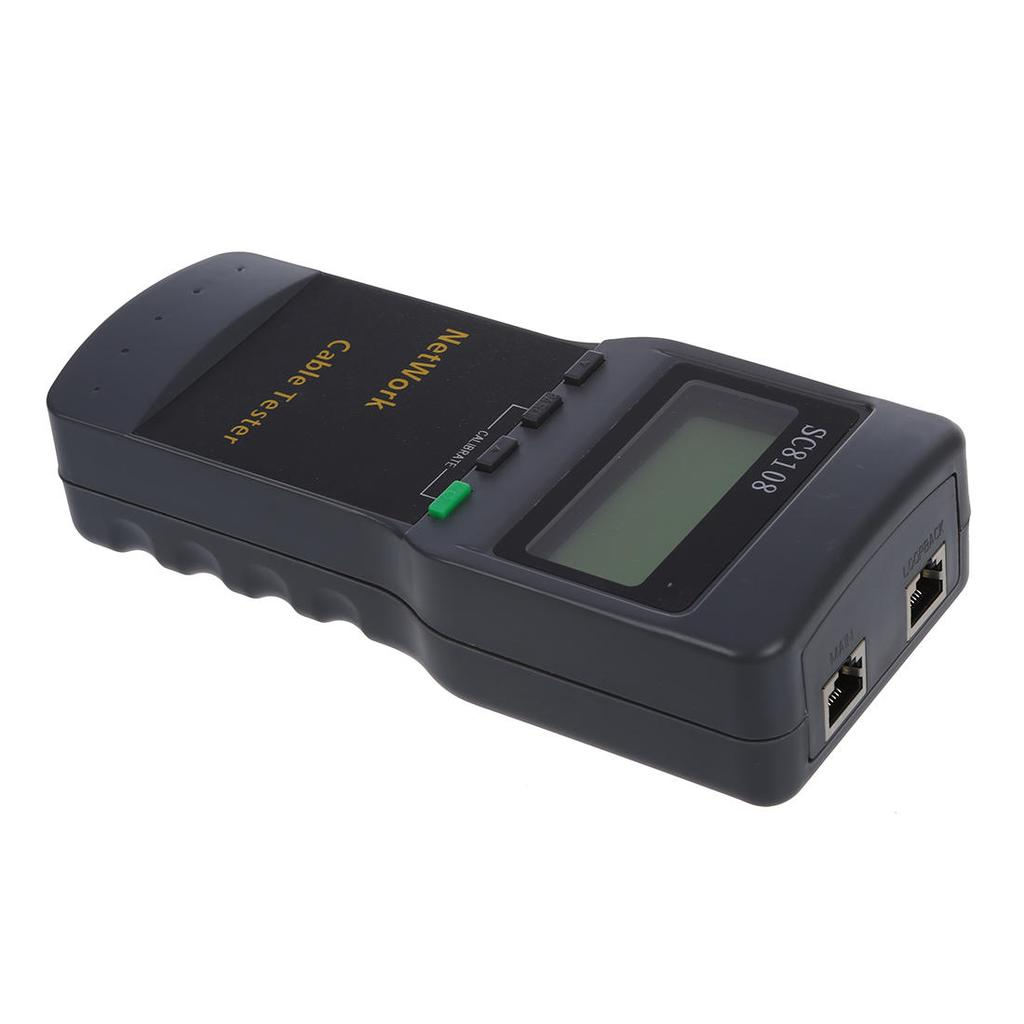 Sc8108 Cat5 Rj45 Network Lan Length Cable Tester Meter Buy At A Low Circuit Schematic 1 Of 5