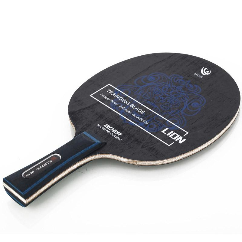 1pcs Long Handle Professional Carbon Fiber Table Tennis Racket Ping-Pong Blade