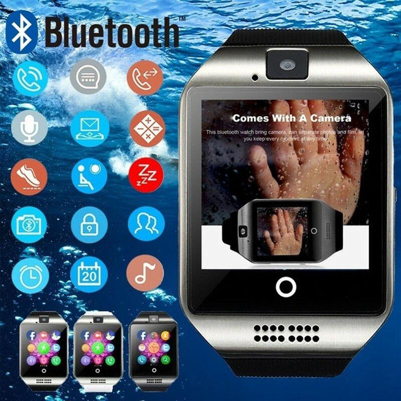 Jardin Smart Residence Malang: Q18 NFC Bluetooth Smart Montre Avec Caméra Synchro