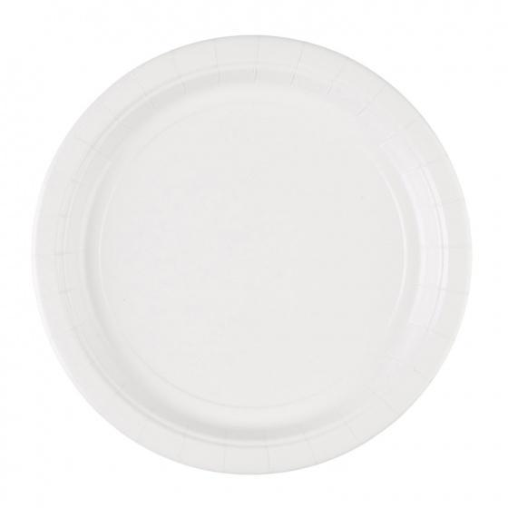 NEW Themed   Party Vanilla Creme Plastic Plates 22.8cm //20