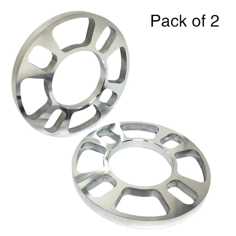 TIROL 5 hole 12MM Thick Wheel Spacer Disc Brake Universal Spacer Kit 2PCS wheel spacer