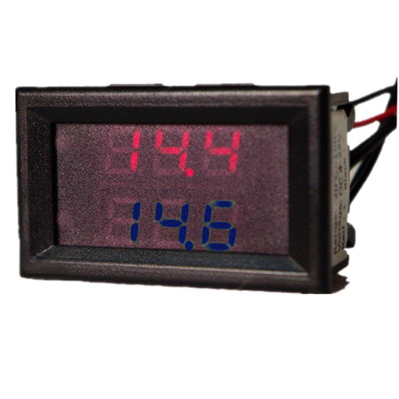0.56 /'/' Dual Red Digital Display LED Waterproof Thermometer Sensor DC 4-28V NEW