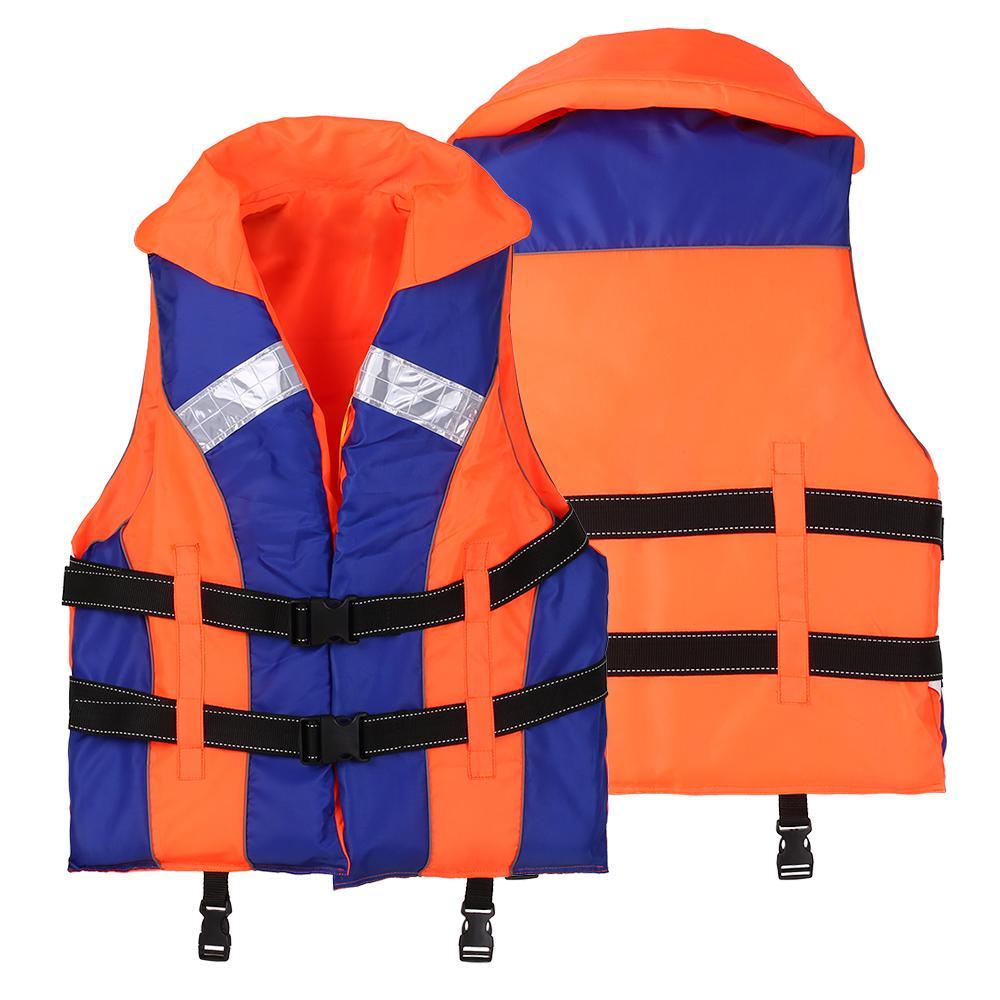 Life Vest with Neck Support Swimming Boating Surfing Sailing Kayaking  Safety Vest Jacket