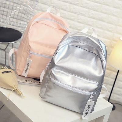 e955918a5d141 Lazer sırt çantası için okul öğrenci bayanlar lazer gümüş hologram çanta  kadın sırt çantası sırt çantaları