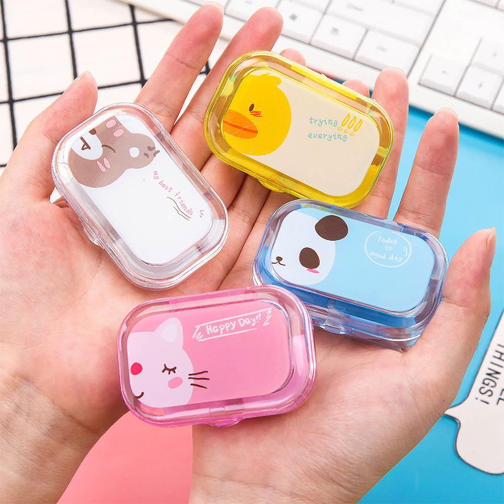 Apparel Accessories Men's Glasses Lovely Contact Lens Box Cute Panda Cartoon Unisex Container For Contact Lens Case Latest Technology