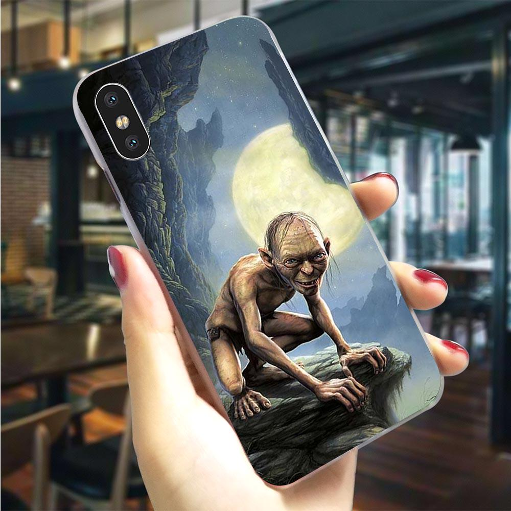 Le Seigneur des Anneaux Hobbit Hard Phone Case pour iPhone 8 Cover 7 Plus Xs Max XR X 6 6S 5S 5 SE
