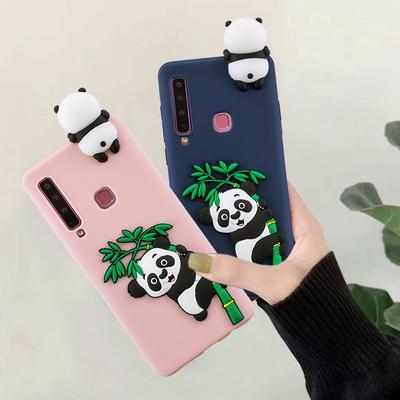 Cute 3D Panda Fashion Soft TPU Silicone Phone Case Cover for Samsung Galaxy A20s A11 A30s A51 Huawei Y5p Y6p Xiaomi Mi 10 Pro iPhone 12 Pro Max