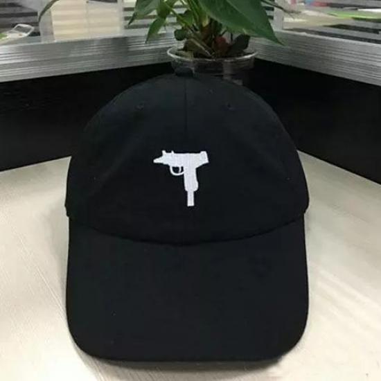 Guns Make Me Happy You Not So Much Adult Trendy Jeans Hip Hop Cap Adjustable Baseball Cap