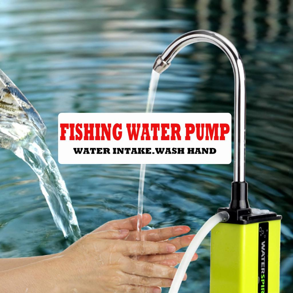Electric Automatic Portable Fishing Water Pump for Outdoor Fishing Wash