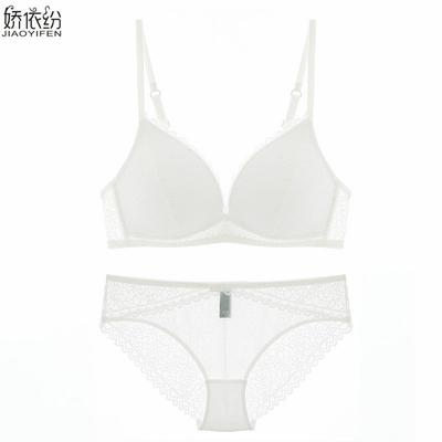90afb19665 Europe Underwear Comfortable Breathable Deep V Lace Set Sexy Bra Women s  Unlined Push Up Bralette