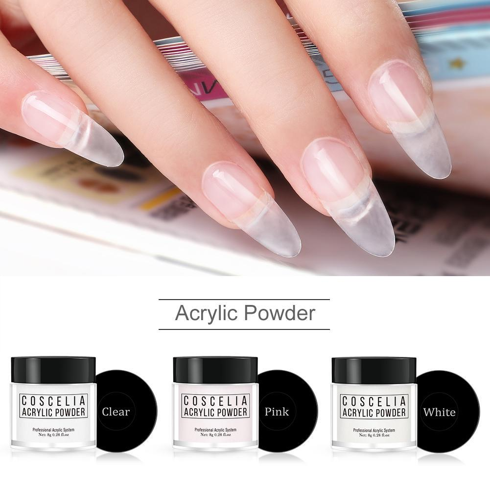 Professional Acrylic Powder Crystal Nail Art Tips Builder Transparent  Powder buy at a low prices on Joom e commerce platform