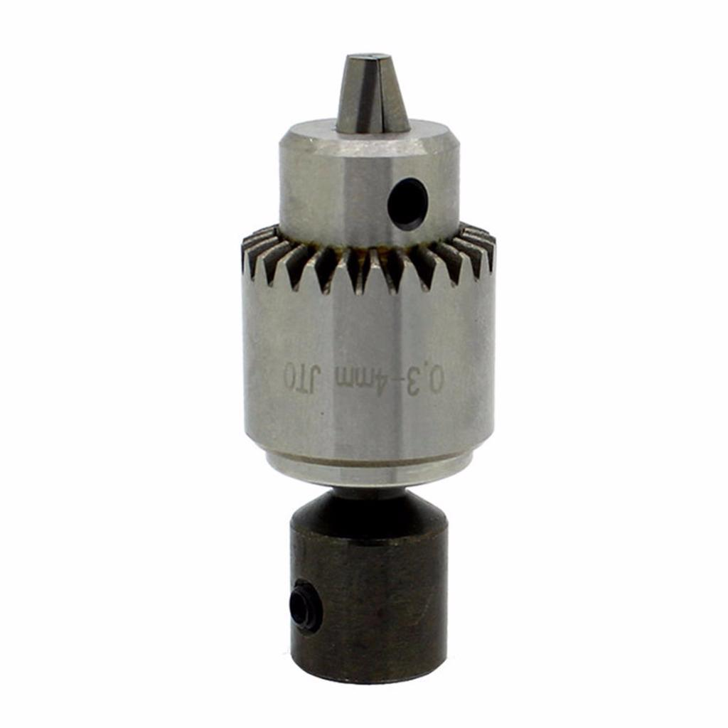 "Micro Drill Mill Adapter 1//2/"" Shank with JT0 Drill Chuck 0.3-4mm"